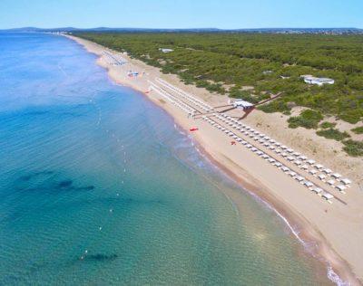 plage de la réserve naturelle de Kalidria Artravel.ch
